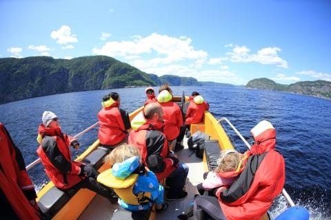 Croisières Fjord et baleines