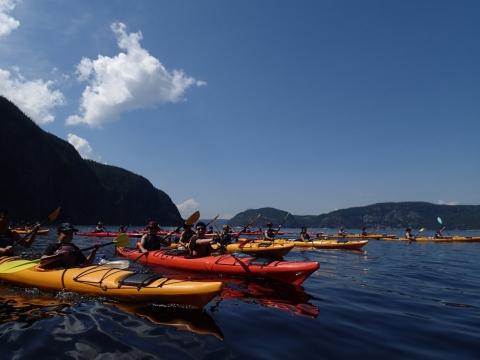 Sur le Fjord-du-Saguenay