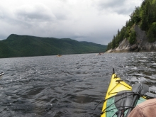 Expérience sur le Fjord-du-Saguenay