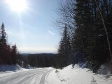 International path, 4 meters of snow