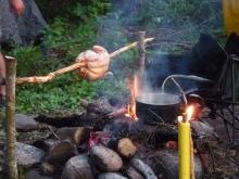 Méchoui de poulet de grain, des repas gastronomiques en pleine nature