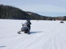Pratique de conduite avant l'aventure dans les Monts-Valin